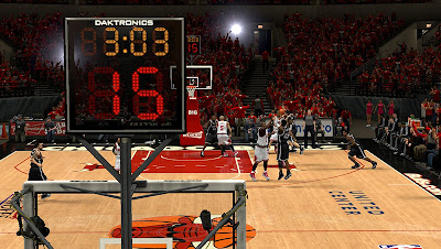 NBA 2K13 Chicago Bulls Playoffs Court Update