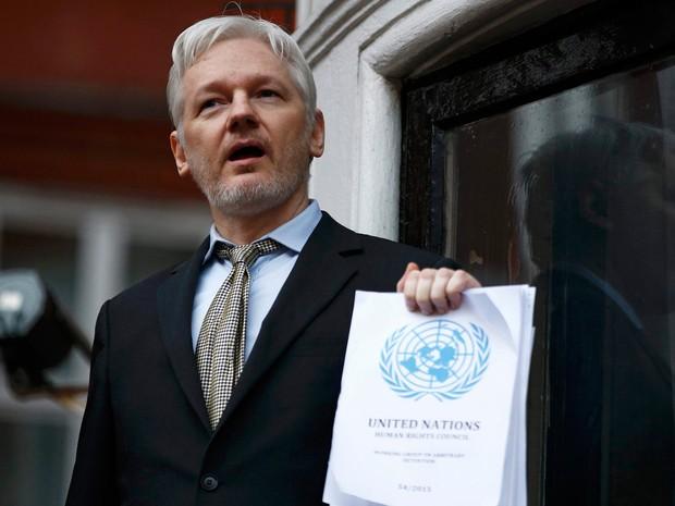 Fundador de Wikileaks diz que votar em Hillary é votar a favor da 'guerra'