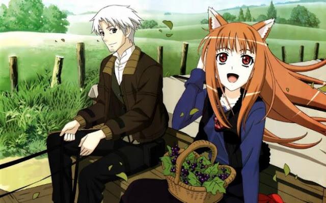 Daftar Rekomendasi Anime Fantasy Romance Terbaik - Ookami to Koushinryo