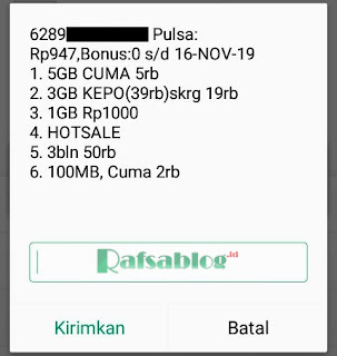 Cara Daftar Paket Kuota Internet Tri 1GB Rp1000 Terbaru 2018