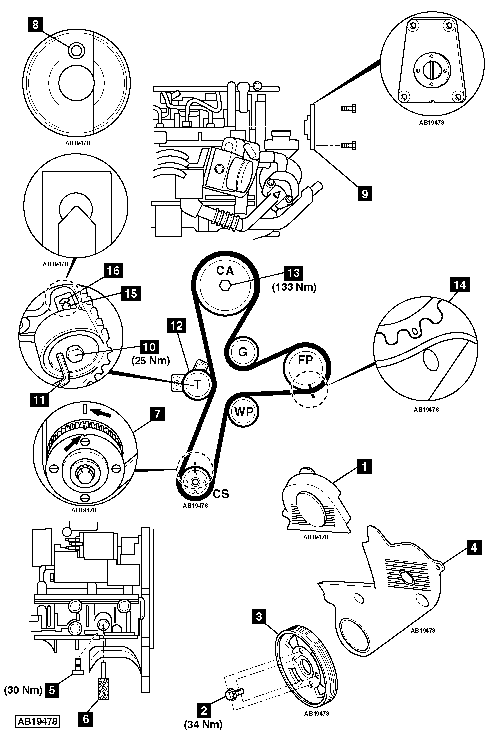 Belt Diagram 2009 Gmc Acadia Schematics Wiring Diagrams 2 0 Engine Ajuste De Motor Marcas Distribuci U00f3n Chevrolet Cruze Cdi F150