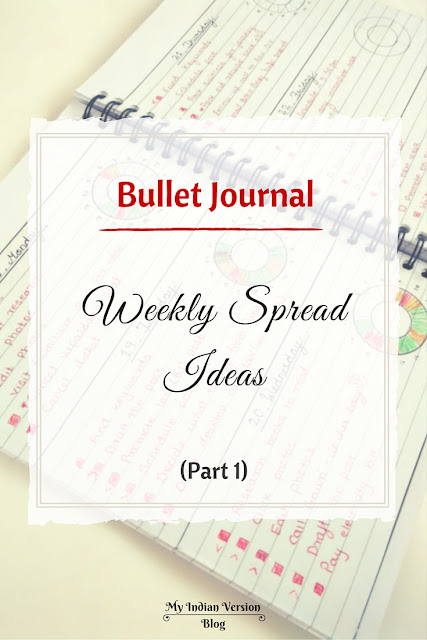 bullet-journal-weekly-spread-ideas-myindianversion