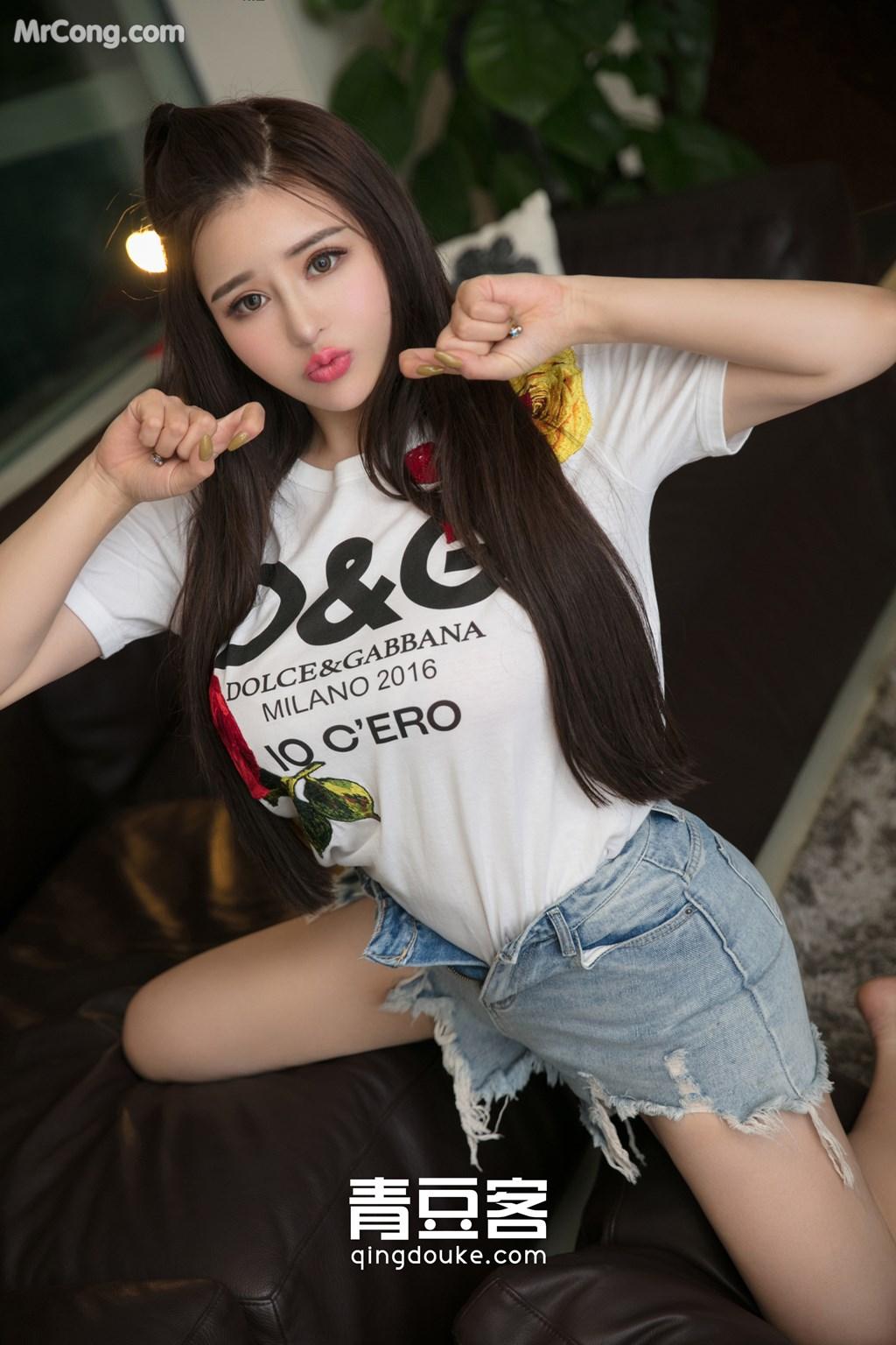 Image QingDouKe-2017-11-18-Jin-Baby-MrCong.com-009 in post QingDouKe 2017-11-18: Người mẫu Jin Baby (金baby) (49 ảnh)