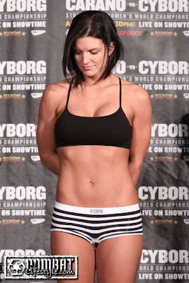 Hottest ufc girl fighters