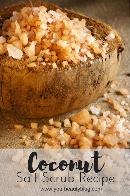 coconut salt scrub recipe