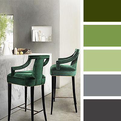 taburetes verde