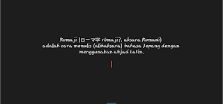 Apa itu huruf Romaji Jepang, Apa beda huruf romaji dengan huruf kanji jepang lainnya, huruf romaji menulis huruf kanji dengan alphabet