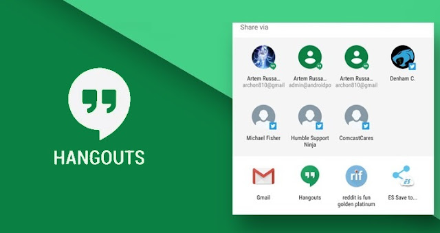 Hangouts v10.0 APK Update, With New Direct Share Feature