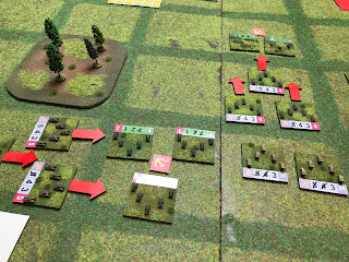 German armour attacks the dug in Soviets