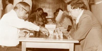 Parida de ajedrez Jaume Anguera - Joan Passolas, XVI Torneo Abierto Sant Andreu 1987