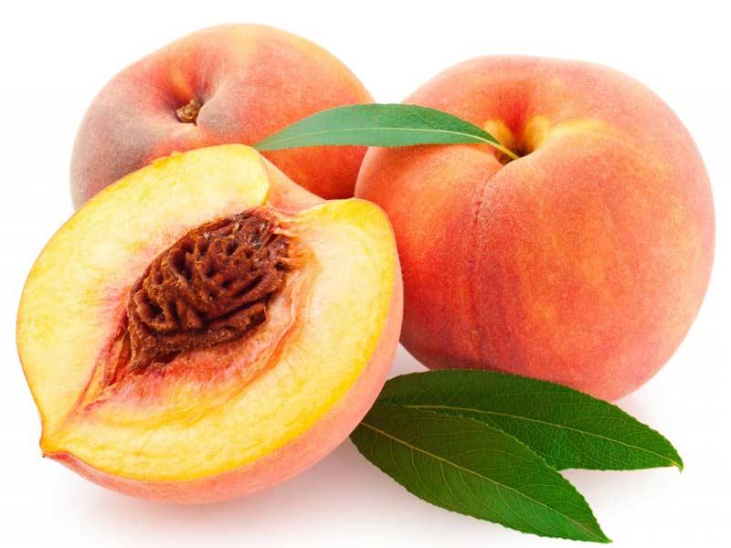Peach (Prunus persica) fruit pictures