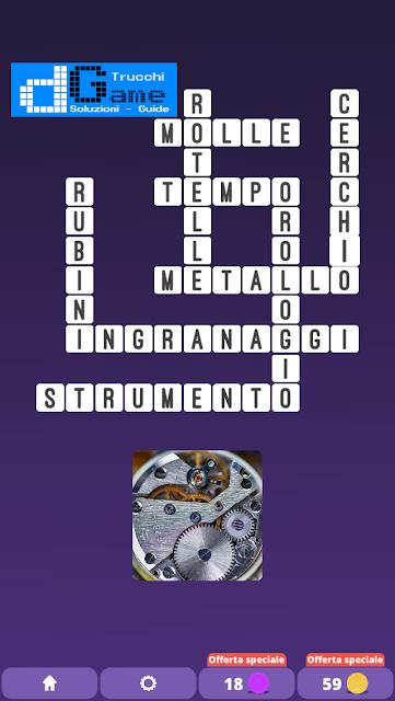 Soluzioni One Clue Crossword livello 14 schemi 5 (Cruciverba illustrato)  | Parole e foto