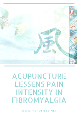 Acupuncture lessens pain intensity in Fibromyalgia
