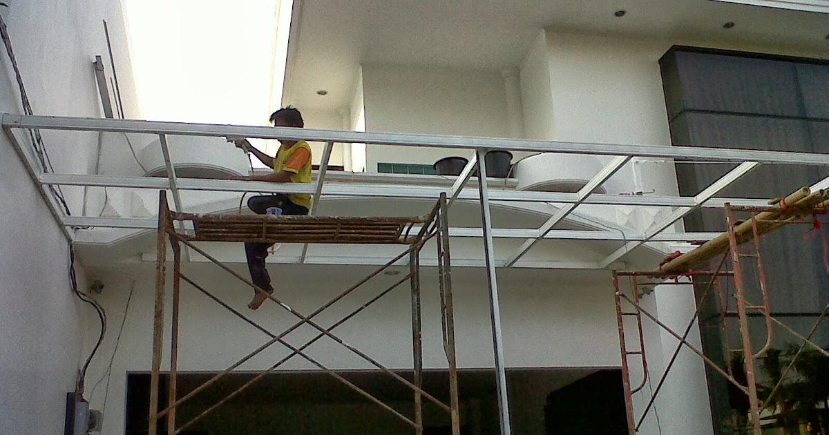 jasa pasang baja ringan karawang canopy bajaringan di ancol timur | dan atap ...