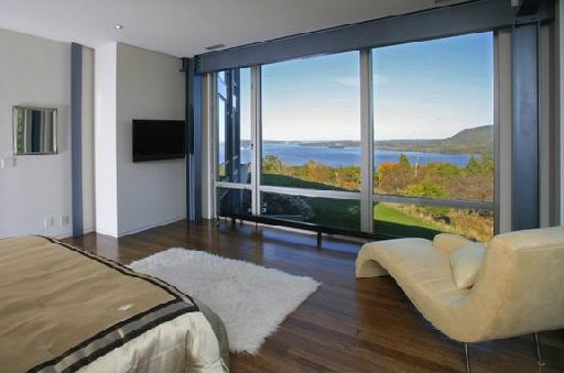 bedroom design blog: Contemporary Glass House Near West ... on Modern Glass House Designs  id=13881