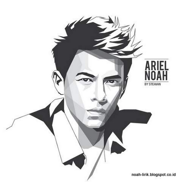 Ariel Noah - Kartun WPAP - Pop Art