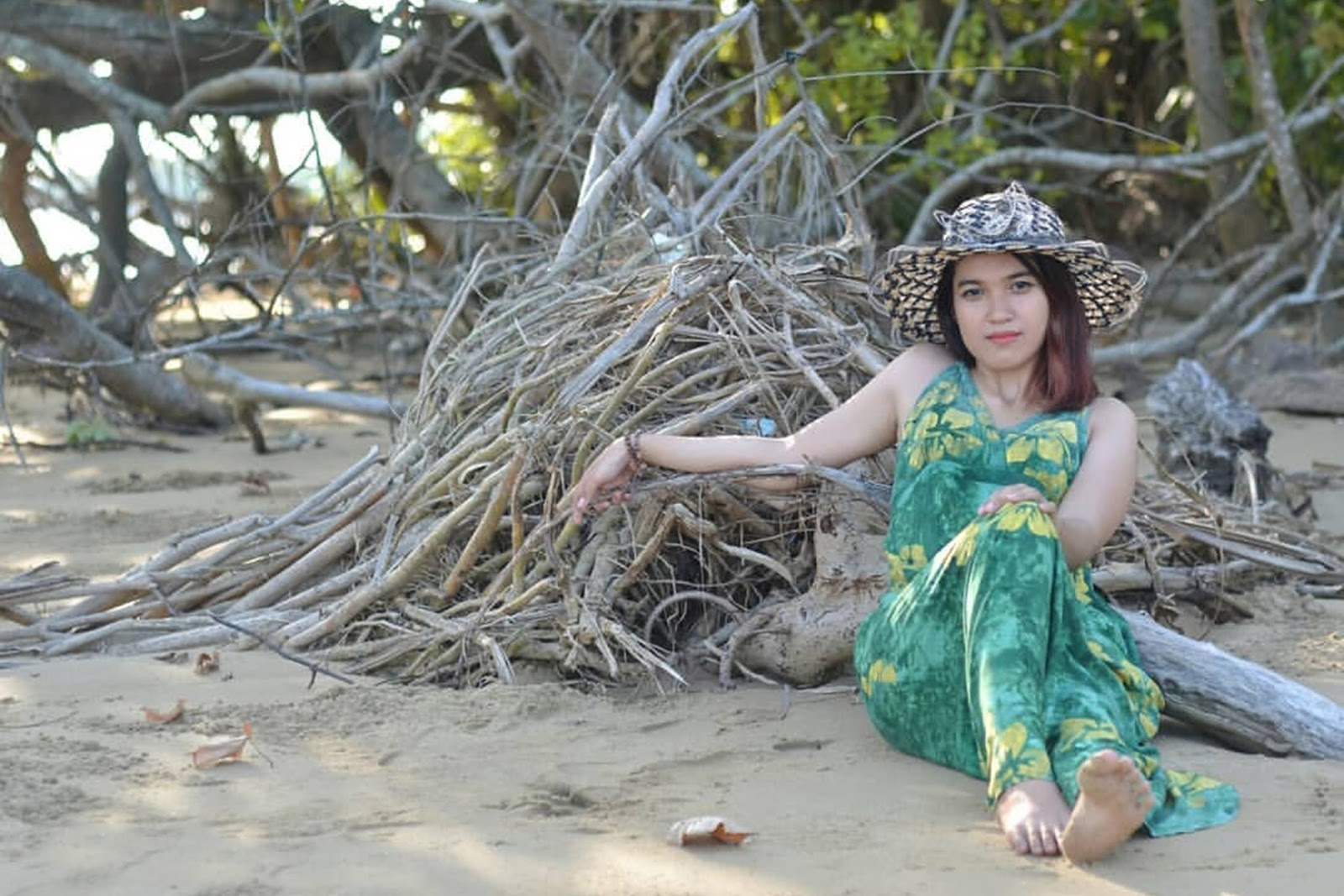 Konsep Foto model yang seuai dengan Cewek IGO gaun