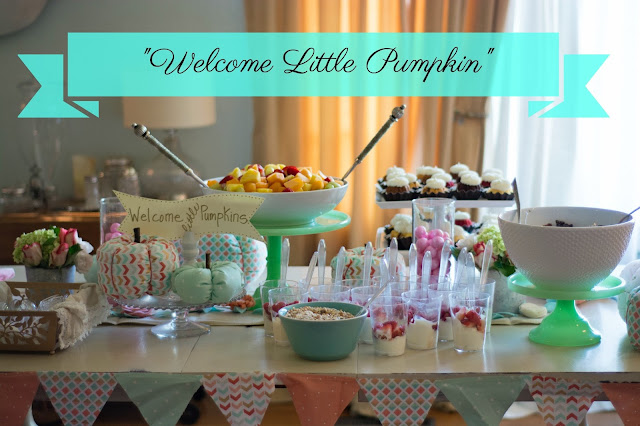 Fall Baby Shower for a Girl