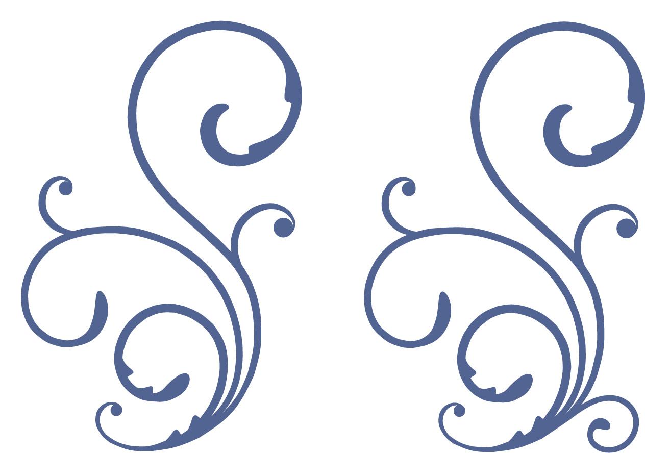 decorative swirl svg cut file burton avenue. Black Bedroom Furniture Sets. Home Design Ideas