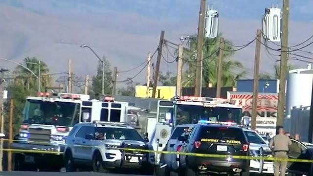 Gunman kills five people in California, including his wife