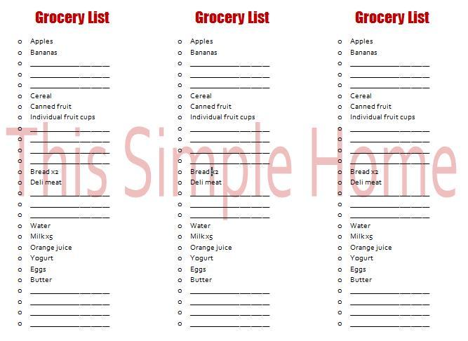master grocery list editable - Maggilocustdesign