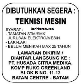 PT. Husada Citra Medika