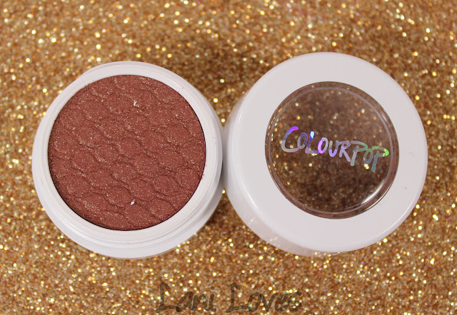 ColourPop SuperShock Shadows - DGAF Swatches & Review