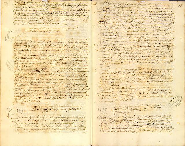 Cartas compiladas, 20/11/1720. Acervo Arquivo Nacional.