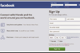Facebook Login Homepage