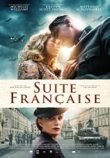 "Carátula del DVD: ""Suite francesa"""