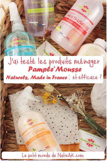 produits ménager naturels écologique