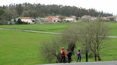 Camino a Fisterra: Negreira - Santa Mariña