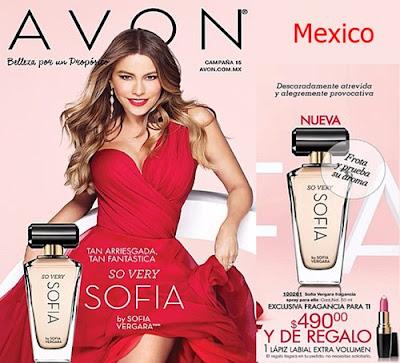 Belleza de Avon Mexico campaña 15