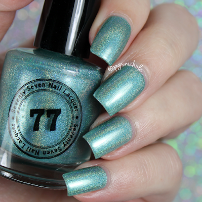 Seventy Seven Nail Lacquer Take Me to the Beach | Springtime Small Batches