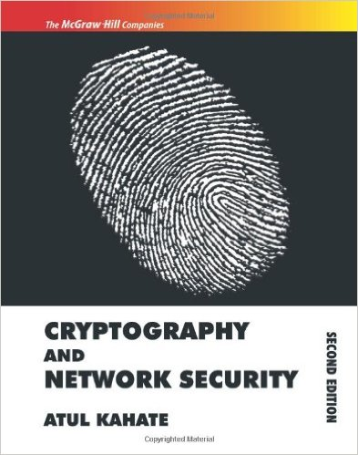 Cryptography and Network security by Atul Kahate Textbook