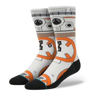 star wars socks high robot