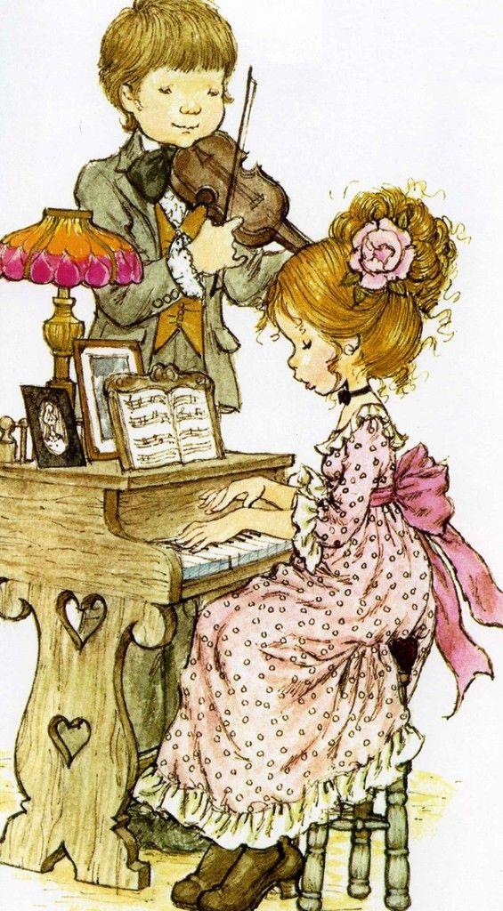 Desenho de Sarah Kay - Música