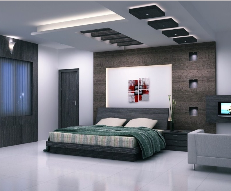 Desain Plafon Kamar Tidur Modern dan Cantik Serta Mewah ...