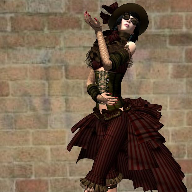 Steampunk Female Clothing
