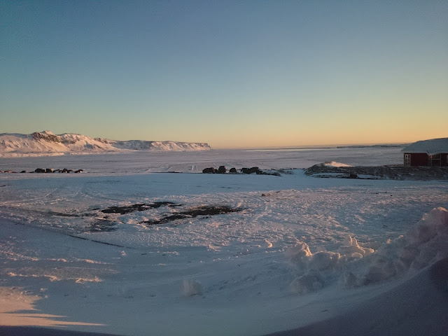 Islandzki krajobraz zimą, Islandia, zima, krajobraz, śnieg, za oknem, pogoda, zimno, pogoda za oknem, powiedzenie