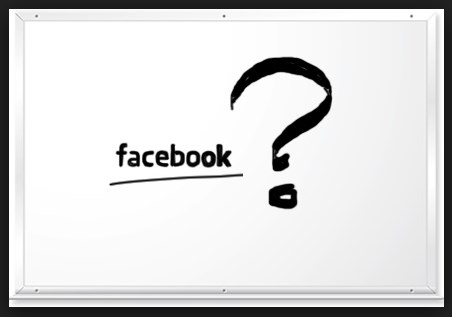 how to ask a question on facebook
