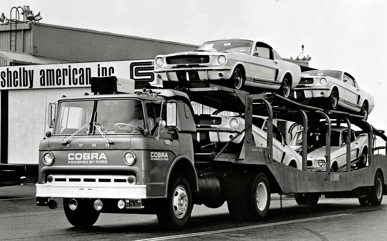 Old School Race Car Haulers