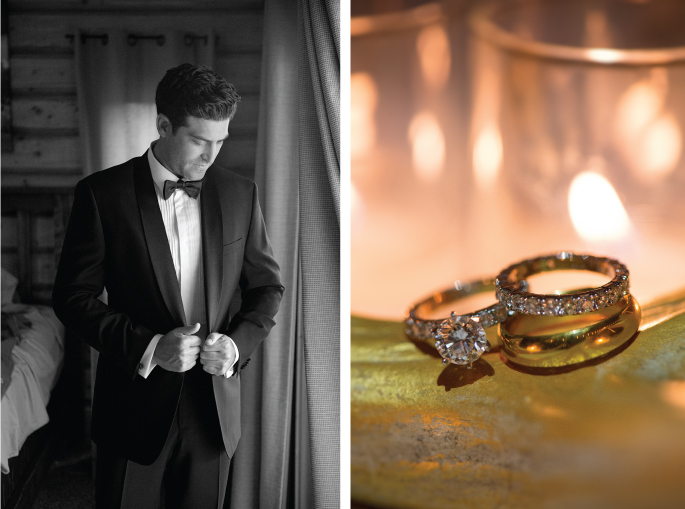 Groom / Rings / Amelia Anne Photography