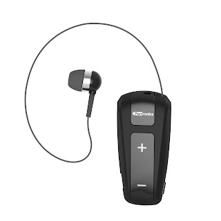 "Portronics Announces ""Harmonics Klip"" – Retractable Bluetooth Earphones for Music and Calls"