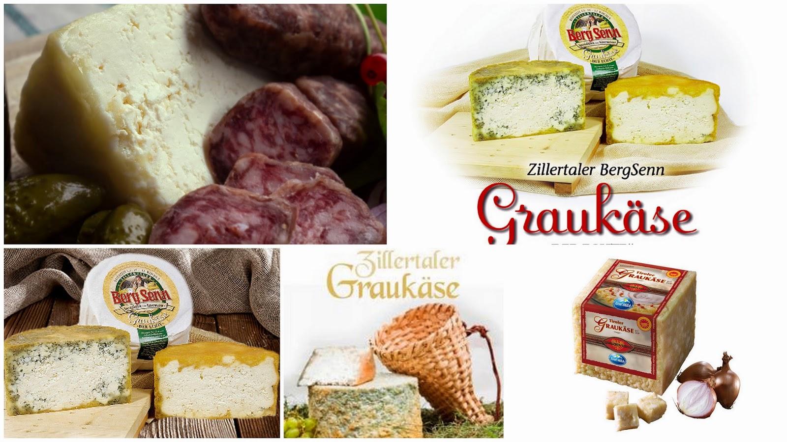 Graukäse il formaggio grigio