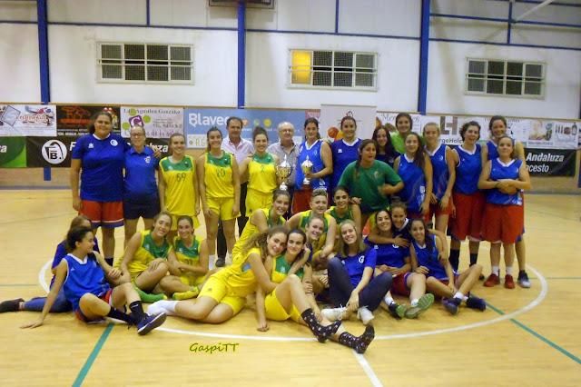El CAB Linares se lleva una igualada Copa Delegación en categoría femenina (2017)
