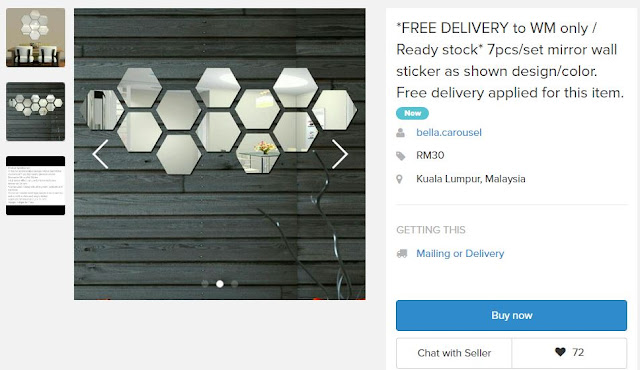 Cermin dinding murah