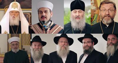 Зеленський записав відеозвернення релігійних лідерів до жителів окупованих територій