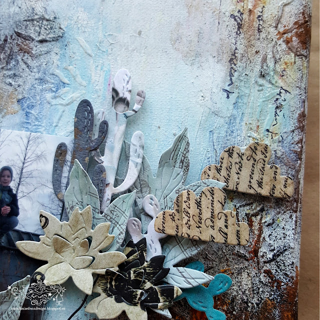 @nastyalena #холст #mixedmedia #canvas #scrapbooking