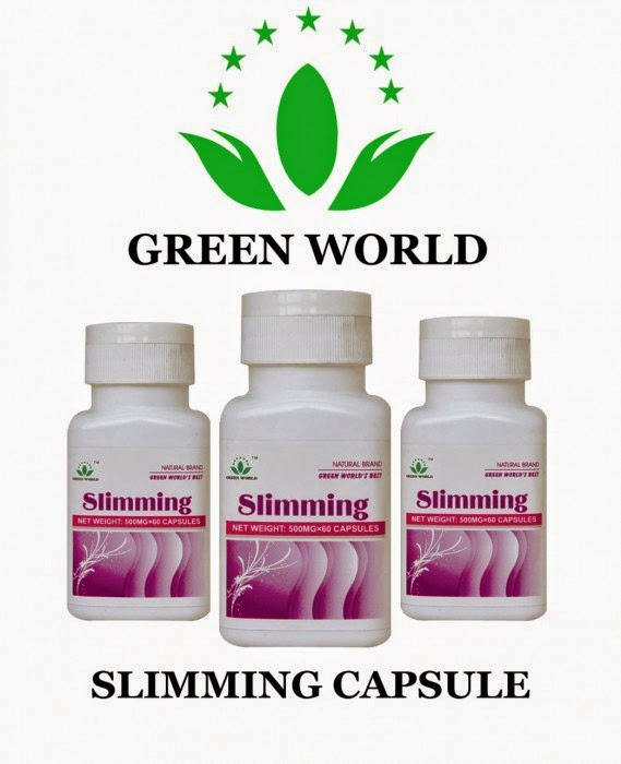 Slimming Capsule Green World Asli